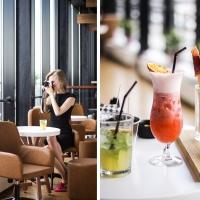 Kino, kokteiļi un Rīgas skaistākās virsotnes / jumta bārs VERTIGO