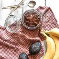 Avokado un banānu nutella ( bezglutēna, vegāna )