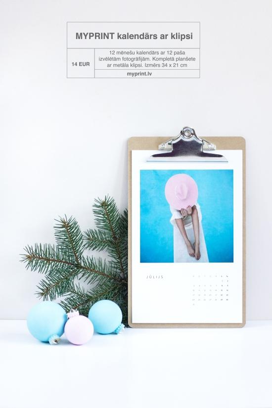 myprint kalendārs ar klipsi