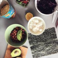 jūras zāļu vrapi ar pupiņu un avokado humusu #vegan #glutenfree